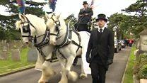 Dancing Ken funeral takes place