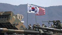 Учения США и Сеула со стрельбой боевыми ракетами