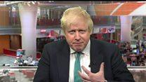 Corbyn 'risk' over Trident - Johnson