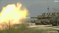 أسلحة متعددة ضمن مناورات عسكرية أمريكية مع كوريا الجنوبية