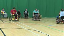 Young man says wheelchair rugby changed his life.
