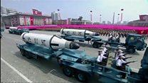 """ТВ-новости: угроза """"ядерного холокоста"""" и новые санкции против КНДР"""