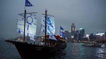 香港硕果仅存的传统大木船