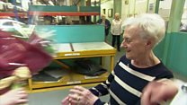 Woman clocks up 70 years with same firm