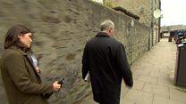 Aberdeen councillor avoids reporter's questions