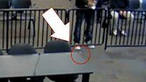 El hombre al que se le cayó una bolsita de cocaína ante el juez