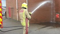Fighting fires around the clock