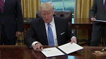 100 дней президента Трампа в цифрах