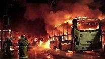 Violent clashes erupt in Brazil