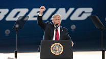 بي بي سي ترصد انجازات واخفاقات ترامب خلال مئة يوم