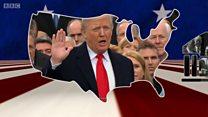 100kii maalmood ee ugu horreeyey Trump