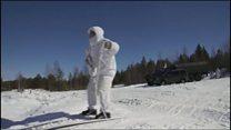 آرکٹک میں روسی فوجی مشقیں