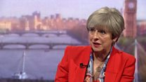 May: Tories have 'no plans' to raise tax