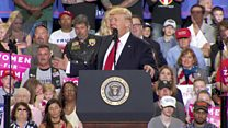 جدال ترامپ با رسانهها صد روز بعد از راهیابی به کاخ سفید