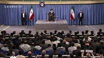 دعوت رهبر ایران از مردم برای شرکت در انتخابات