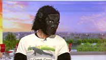 'Mr Gorilla': How I crawled the marathon