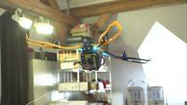 طائرات صغيرة دون طيار تحاكي الطائرات الورقية