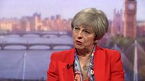 Theresa May: 'I'm not in a different galaxy'