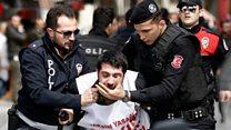 1 Mayıs: İstanbul'da 165 kişi gözaltına alındı