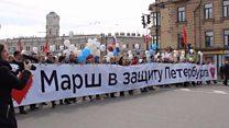 1 мая в Петербурге: защитники Исаакия и задержания ЛГБТ-активистов