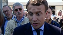 تظاهرات روز کارگر در فرانسه عرصه تبلیغات انتخاباتی نامزدها شد