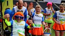Motor neurone patient's marathon success