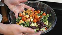 Meet Sally, the salad-making robot