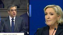 Le Pen, rakibinin konuşmasını kopyalamakla suçlanıyor