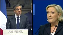 Le Pen accused of copycat speech