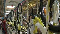 တရုတ်ပြည်က စက်ဘီးတွေ