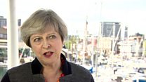 May on being 'bloody difficult'