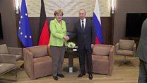 ТВ-новости: Россия и Германия - разговор без результата
