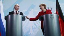 دیدار پوتین و مرکل: برای اتحادیه اروپا اوکراین الویت است یا سوریه؟