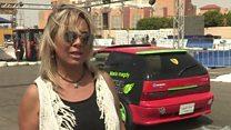 مصرية تعود إلى سباقات سيارات السرعة بعد توقف لـ20 سنة