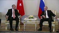 هل ستنهي زيارة اردوغان إلى روسيا التوتر بين البلدين؟