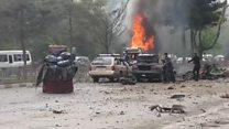 حمله انتحاری به کاروان نظامیان خارجی در کابل
