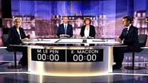 آخرین مناظره انتخاباتی فرانسه، نظرسنجی ها می گوید، مکرون بهتر بود