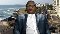 South Africa's Mbalula on ANC divisions