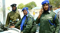 The women trying to keep Somalia safe