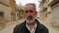 """الرجل الذي نجا من """"الهجوم الكيمياوي"""" في سوريا"""