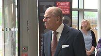 Prince's royal visits to Wales
