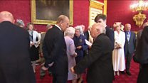 Prince Philip jokes about retiring