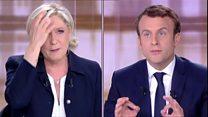 Дебаты Ле Пен и Макрона: обмен нападками и обвинениями