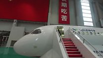 A tour of China's first big passenger jet