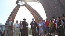 Бишкек: Согуштан кайтпаган кыргызстандыктар эскерилди