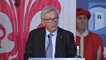 Juncker: Why English is 'losing EU clout'