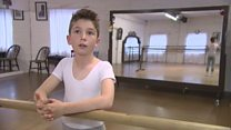 Ten-year-old wins ballet school scholarship