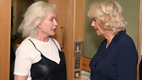 When Camilla met Blondie
