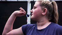 The 13-year-old darts prodigy