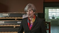 May 'will not take anything for granted'